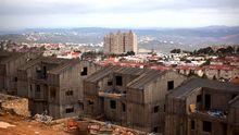 Die Siedlung Ariel im Westjordanland, Dezember 2012