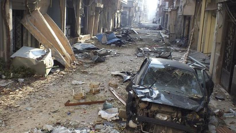 Bürgerkrieg: Geheimdienste sprechen von Chemiewaffen-Einsatz in Syrien
