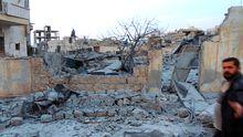Kriegszerstörungen in der syrischen Provinz Idlib
