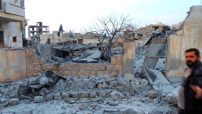Bürgerkrieg: Heftige Kämpfe um Flughäfen in Syrien
