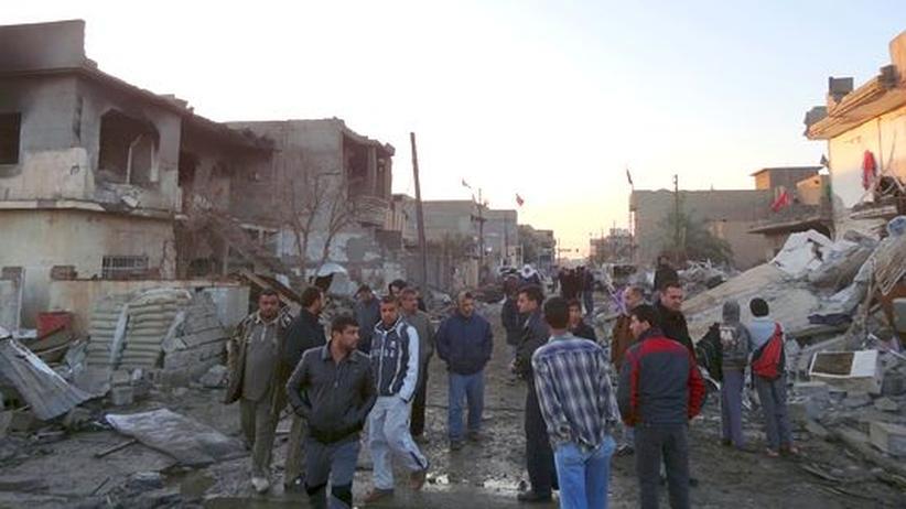 Bombenanschlag: Mehr als 40 Tote bei Anschlag auf schiitische Moschee im Irak