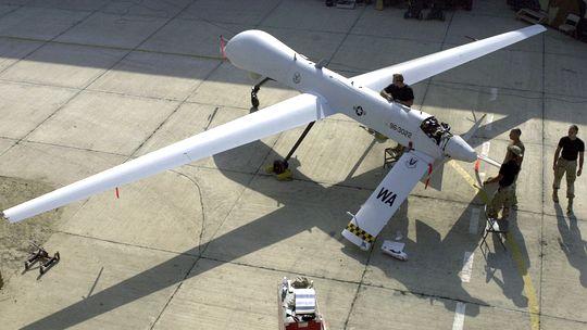 Eine US-amerikanische Predator-Drohne
