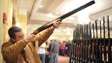 Waffenmesse im US-Bundesstaat Connecticut