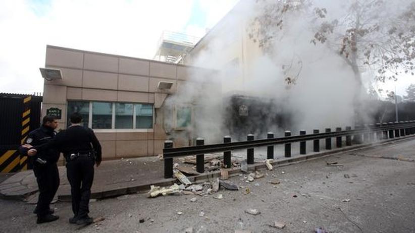 US-Botschaft: Türkischer Selbstmordattentäter soll aus Deutschland gekommen sein