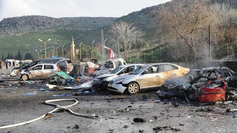 Syrisch-türkische Grenze: Bombenanschlag galt syrischen Oppositionsführern