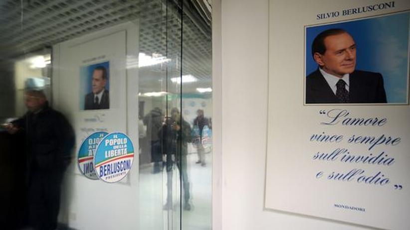 Wahl in Italien: Berlusconi offen für Bündnis mit Mitte-Links