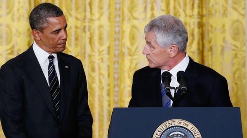 Chuck Hagel: Obama verärgert über Machtspiele der Republikaner