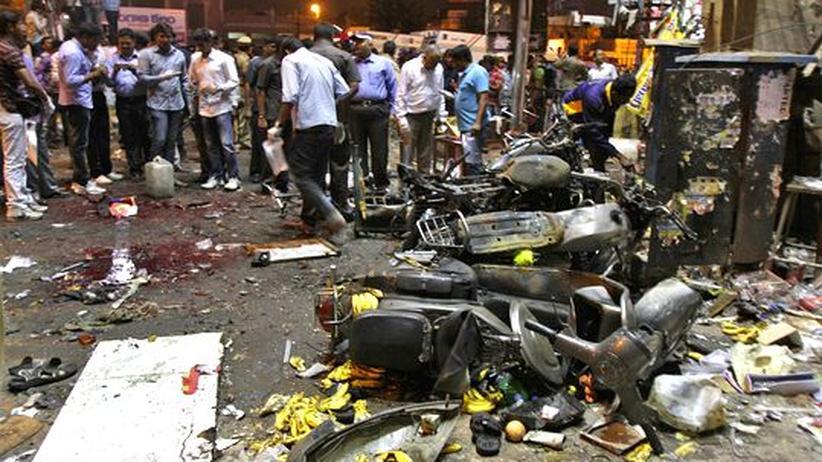 Terrorismus: Viele Tote bei Anschlägen in Indien