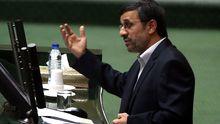 Irans Präsident Mahmud Ahmedinedschad im Parlament
