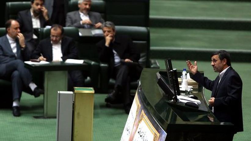 Minister-Entlassung: Iranisches Parlament blamiert Ahmadinedschad