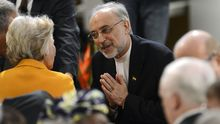 Der iranische Außenminister Ali Akbar Salehi auf der Münchner Sicherheitskonferenz