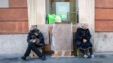 Obdachlose in Rom