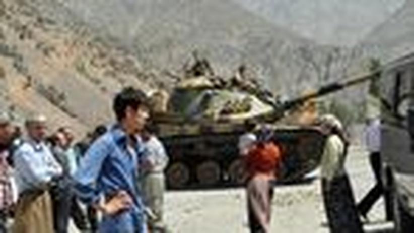 Versöhnung: Oben die Türken, unten die Kurden