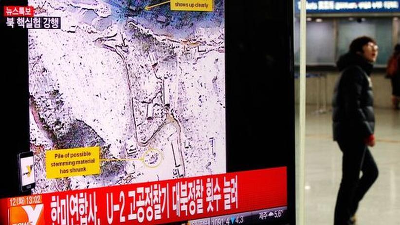 Atomwaffen: Staatengemeinschaft verurteilt Nordkoreas Atomtest