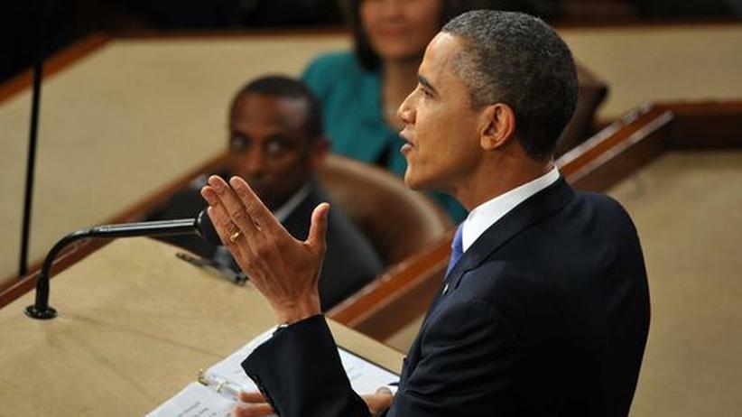 Obamarede: Ein bewegter Präsident, zum Handeln entschlossen