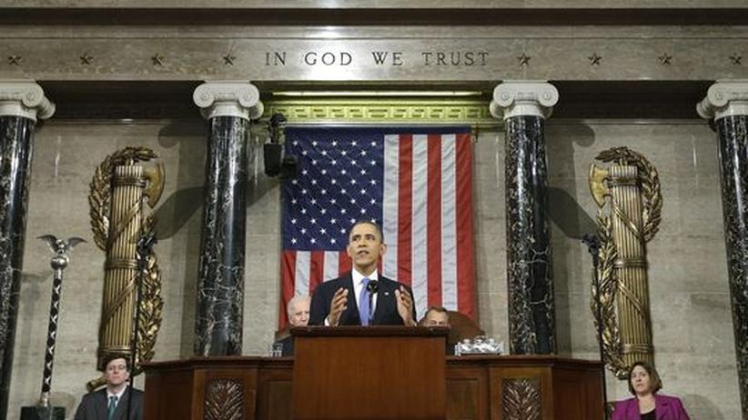 """Obama zur Lage der Nation: Kampf gegen die Krise ist """"Aufgabe unserer Generation"""""""
