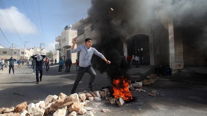 Westjordanland: Netanjahu fordert von Abbas ein Ende der gewaltsamen Proteste