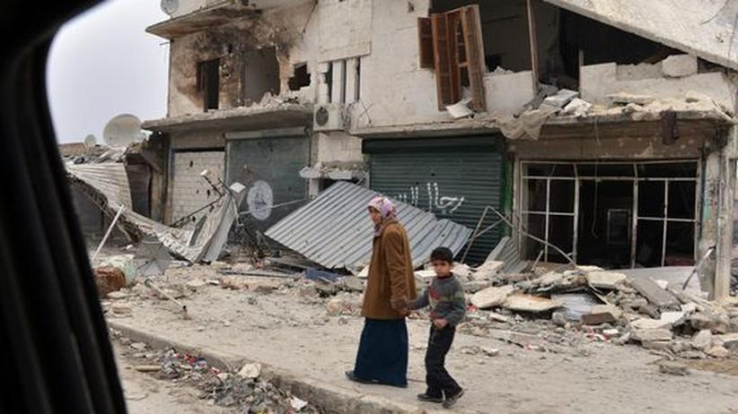 Bürgerkrieg: Syrische Opposition sagt Weltgemeinschaft ab