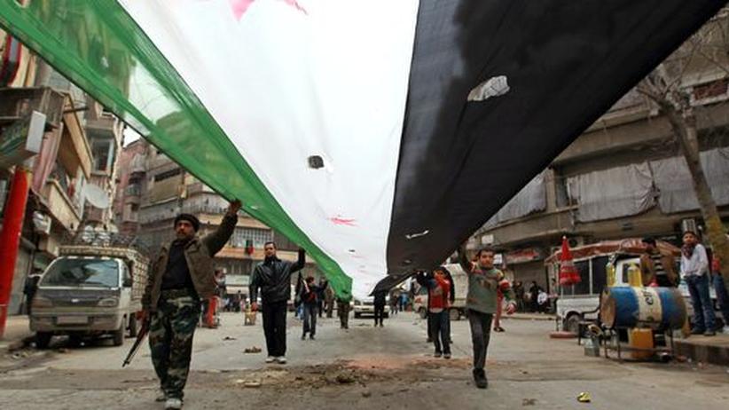 """Bürgerkrieg: Syriens Opposition will Regierung für """"befreite Zonen"""" bilden"""