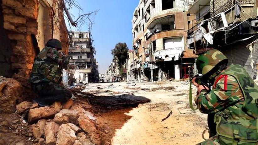 Syrien: Iran verstärkt militärische Hilfen für Assad