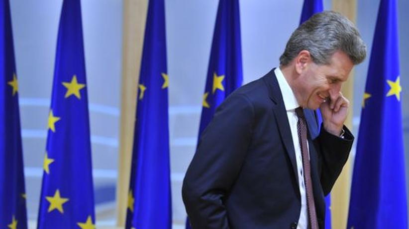 EU-Beitritt: Oettinger erntet Zuspruch aus der Türkei