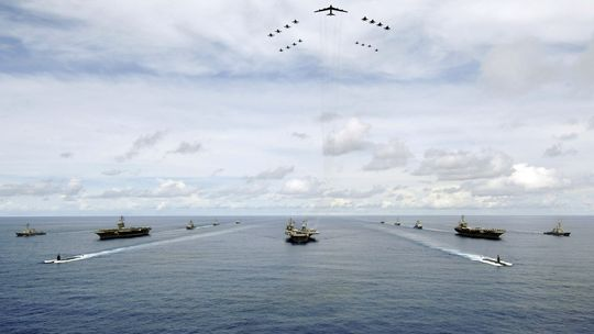 Ein Manöver der US-Marine (Archivbild)