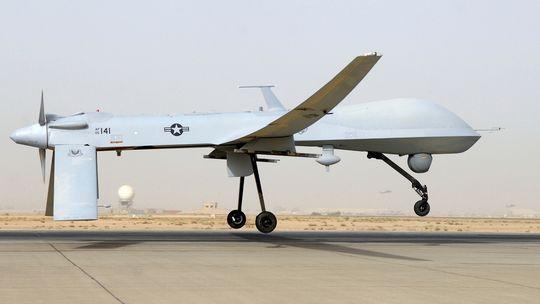 Eine Predator-Drohne der USA im Irak
