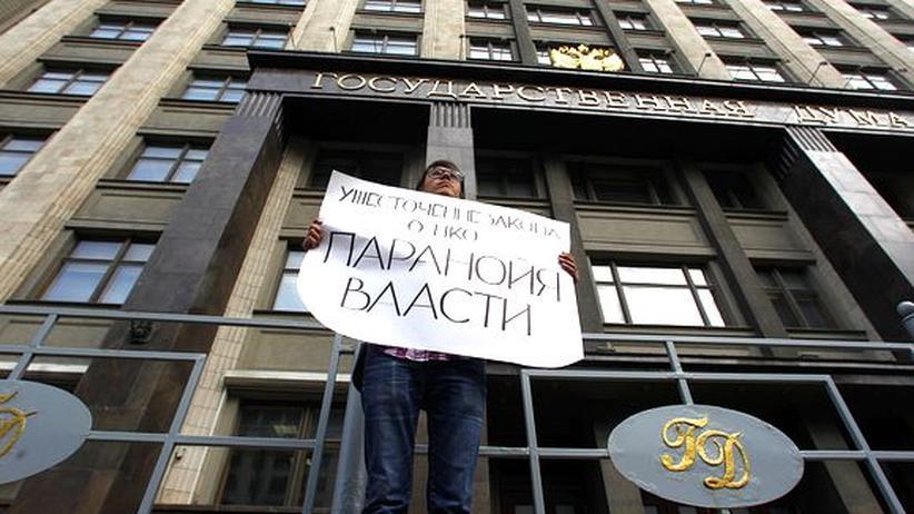 Russland: Putins Repressionsapparat kommt in Fahrt