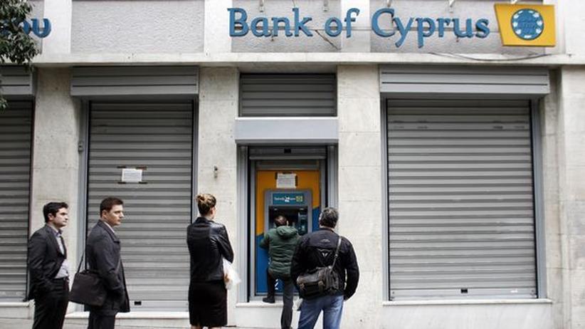EU-Rettungsplan: Zyperns größte Bank plädiert für Zwangsabgabe