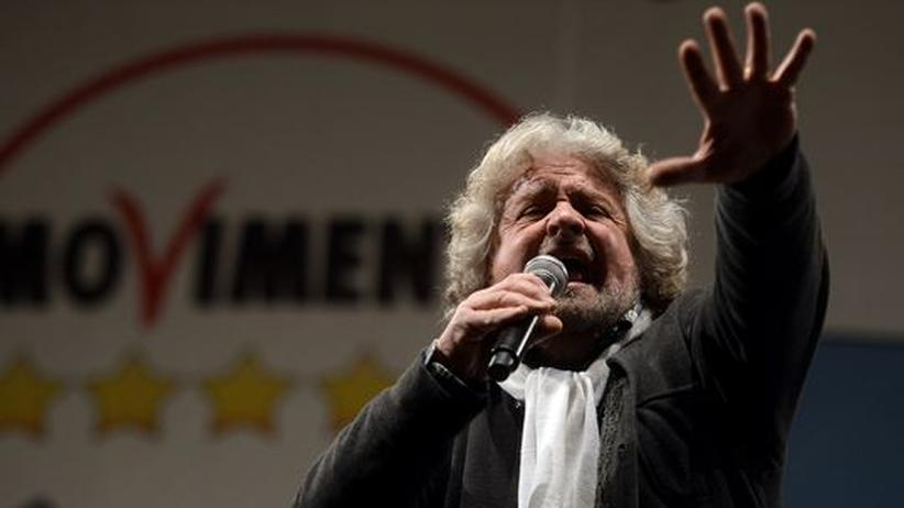 Italien: Grillo prophezeit Kollaps des politischen Systems