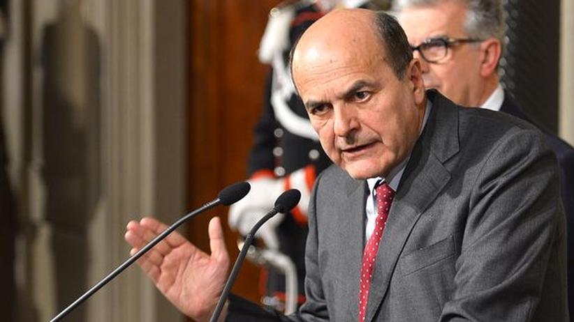 Wahlergebnis: Bersani in Italien mit Regierungsbildung beauftragt