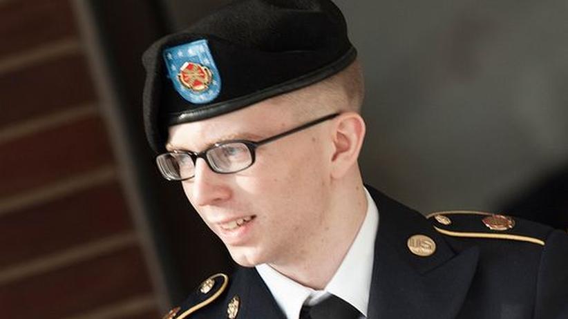 US-Militärprozess: Bradley Manning vor Gericht (Archivbild)