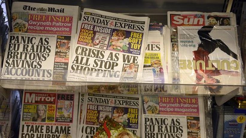 Großbritannien: Schwache Politiker, starke Anti-Presse-Lobby