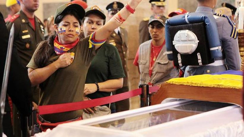 Venezuela: Chávez kommt ins Museum