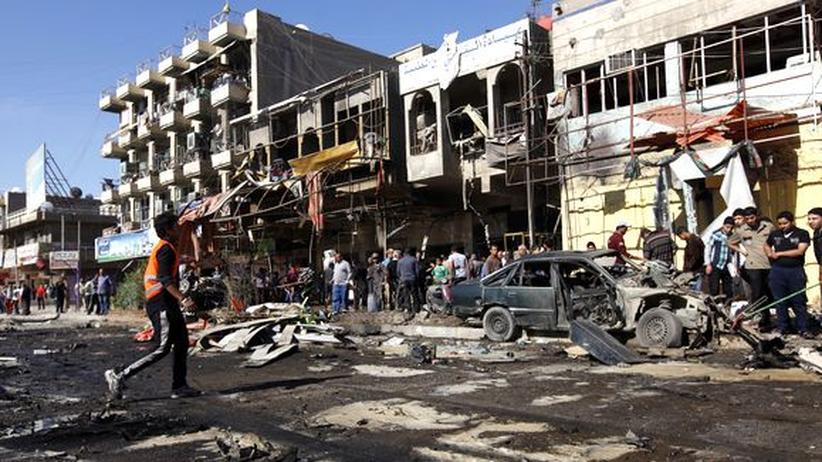 Terrorismus: Bombenanschläge erschüttern Irak am Jahrestag der Invasion
