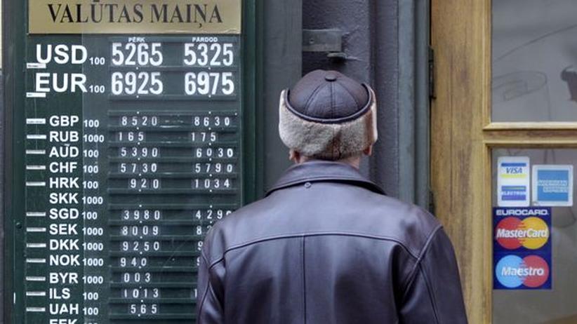 Währungsunion: Lettland reicht Antrag auf Euro-Beitritt ein