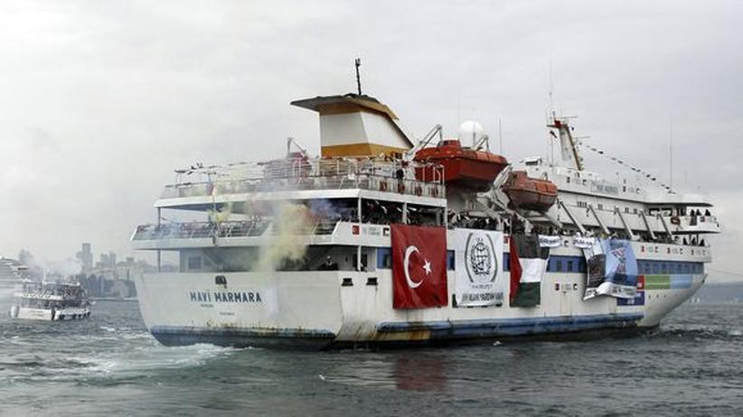 Gaza-Hilfsflotte: Israel entschuldigt sich bei der Türkei