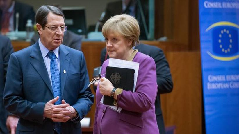 Euro-Krise: Merkel verliert die Geduld mit Zypern