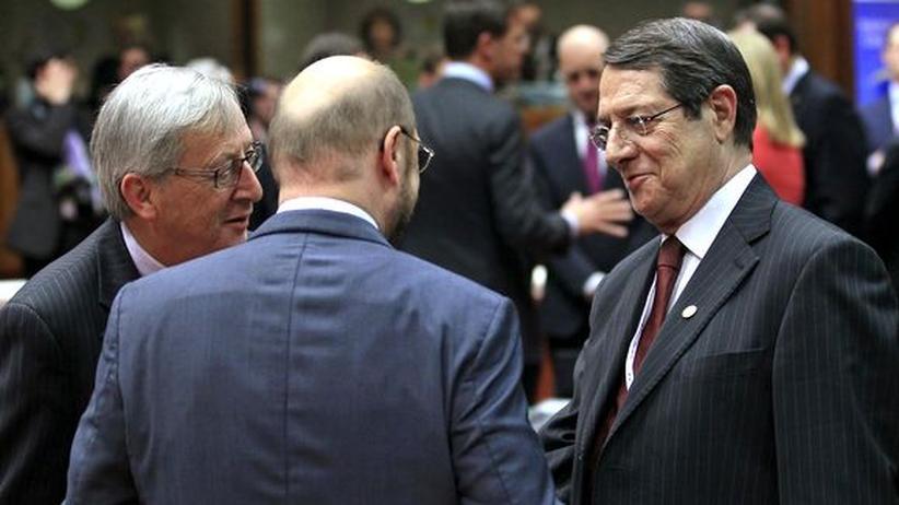 EU-Gipfel: Merkel zögert bei Zypern-Hilfe