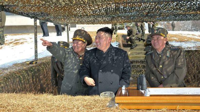 Kriegsrhetorik: Nordkorea droht mit Angriffen auf US-Stützpunkte