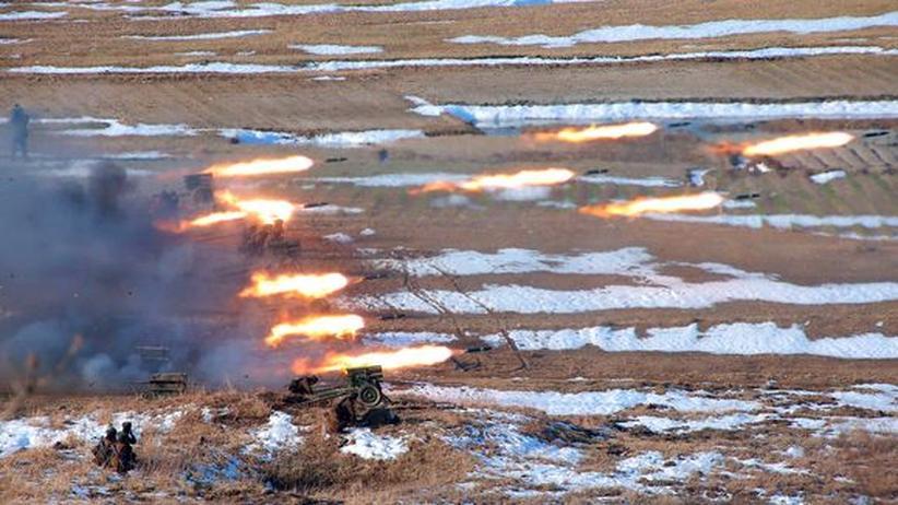 """Artillerie und Raketen: Nordkorea droht USA mit """"Gefechtsbereitschaft"""""""