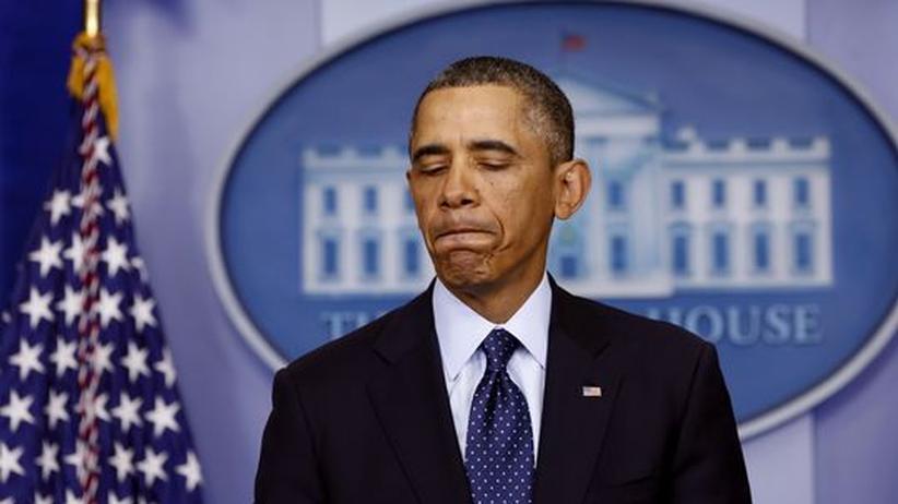 """US-Haushaltsstreit: Obama gibt Republikanern die Schuld für """"dumme"""" Etatkürzungen"""