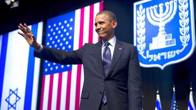Nahost-Konflikt: Obama fordert in Israel Gerechtigkeit für Palästinenser