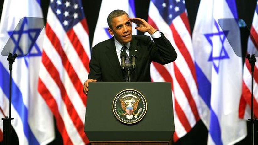 Jerusalem-Rede: Obama umarmt Israel und fordert es heraus