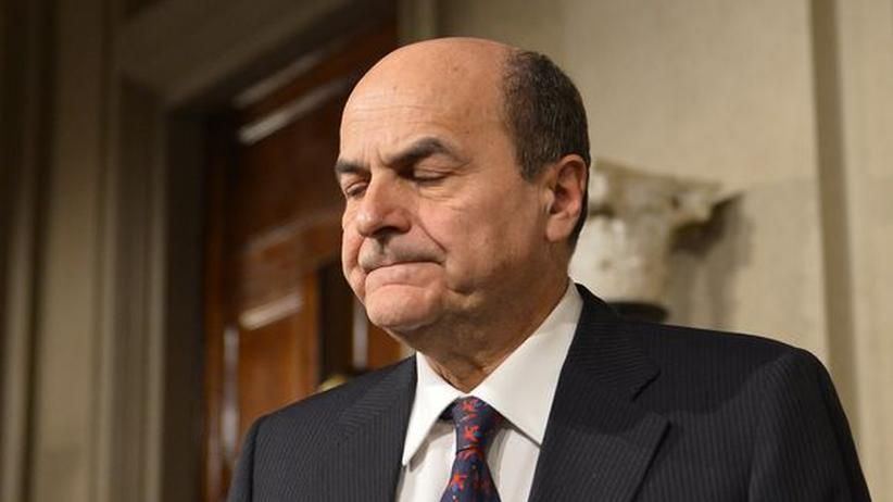 Italien: Bersani scheitert mit Regierungsbildung