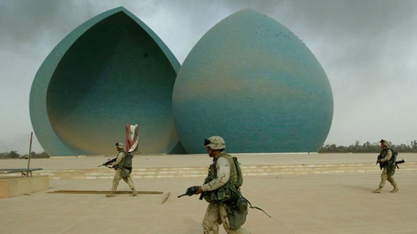Irakkrieg: Bushs Werk und Al-Kaidas Beitrag