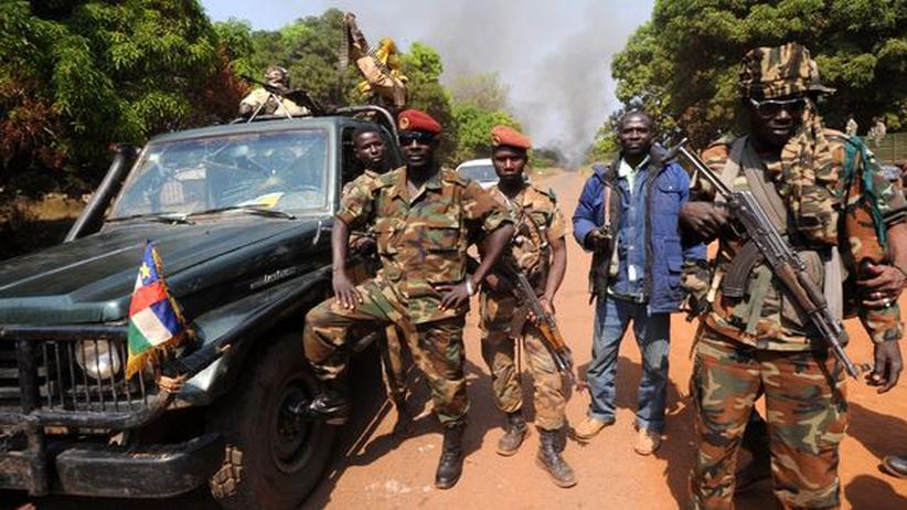 Zentralafrikanische Republik: Rebellenführer ernennt sich zum neuen Präsidenten