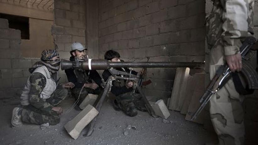 Bürgerkrieg: EU will syrische Rebellen militärisch ausbilden