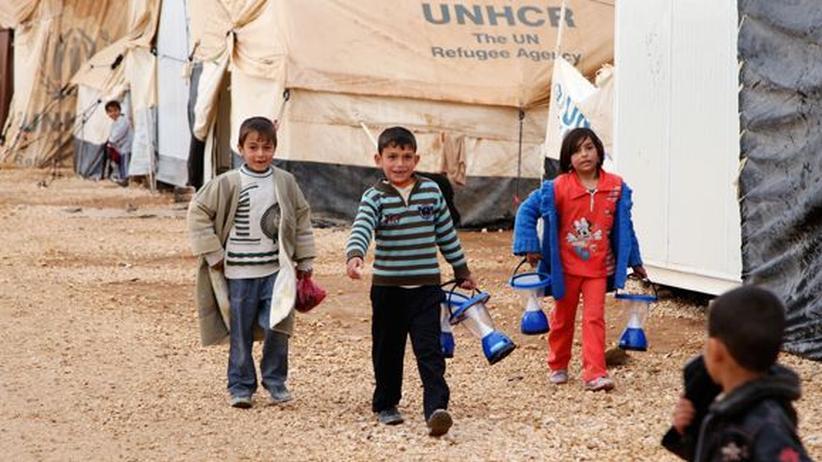 Bürgerkrieg: Über zwei Millionen syrische Kinder in Not