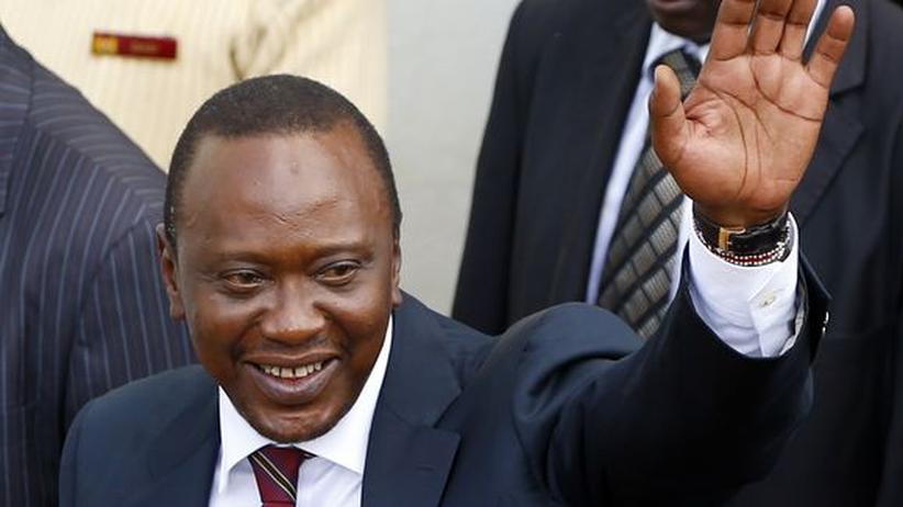 Wahlsieg: Kenyatta wird neuer Präsident Kenias